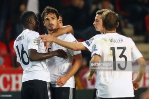Czech Republic 1-2 Germany: Holders on brink of sealing World Cup place