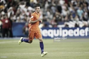 Robin van Persie se ausentó de la selección de Holanda por una lesión