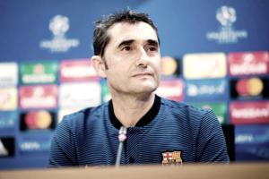 """Valverde destaca atuação de Messi após vitória sobre Juventus: """"Tenho a sorte em tê-lo comigo"""""""