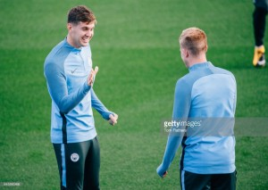 "John Stones welcomes ""strong competition"" in Manchester City defence ahead of Feyenoord clash"