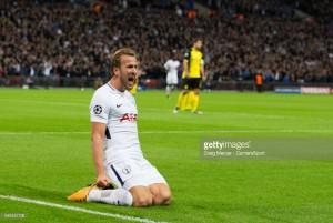 Harry Kane double as Tottenham beat Dortmund at Wembley