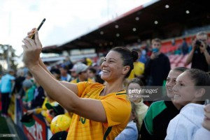 Emily Gielnik talks keeping sharp in Europe and rising with the Matildas