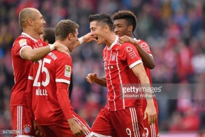 Bayern Munich 4-0 1.FSV Mainz 05: Lewandowski brace silences Bayern critics against Mainz