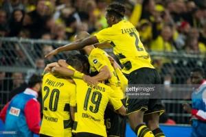 Borussia Dortmund 5-01. FC Köln: VAR plays part in Billy Goats thrashing