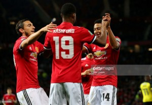 Manchester United 4-1 Burton Albion: Rashford stars as League Cup holders stroll through to last 16