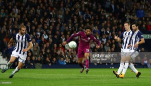 West Bromwich Albion 1-2 Manchester City: Sané double sees off Baggies in Carabao Cup