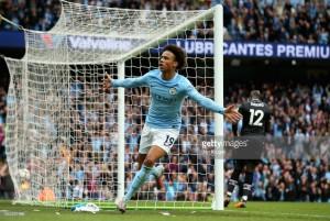 "Fernandinho hails the ""great talent"" of Manchester City team-mate Leroy Sané after Palace pummelling"
