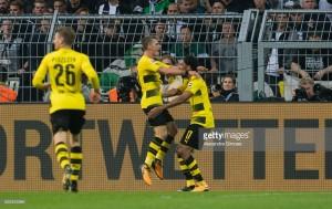 Borussia Dortmund 6-1 BorussiaMönchengladbach: Philipp and Aubameyang destroy Foals