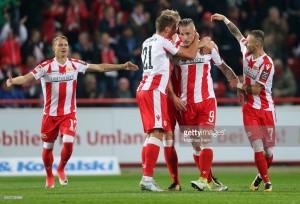 1. FC Union Berlin 5-0 1.FC Kaiserslautern: Polter hat-trick helps destroy Red Devils