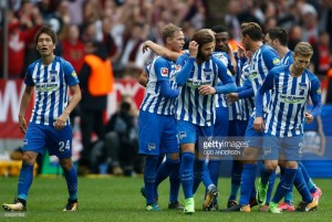 Hertha BSC 2-2 Bayern Munich: Two goals in five second half minutes earns the Old Lady a point