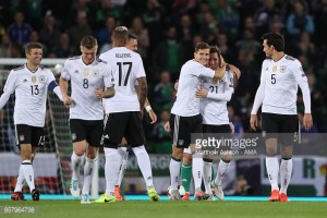 Northern Ireland 1-3 Germany: Die Mannschaft qualify for 2018 World Cup with comfortable win