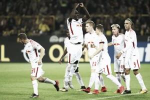 RB Leipzig surpreende, bate Borussia Dortmund e entra na briga pela liderança