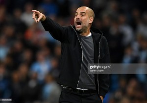 "Pep Guardiola ""so happy"" with Manchester City beating ""one of the best teams in Europe"" in Napoli"