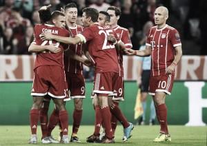 Em dominante atuação, Bayern vence fácil Celtic e se recupera na Champions