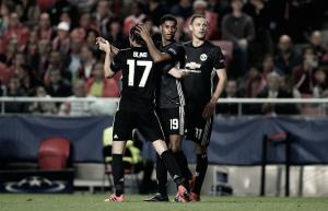 Rashford decide, Manchester United supera Benfica fora de casa e mantém 100% na UCL