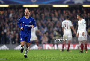 Chelsea 3-3 Roma: Hazard heroics saves point against relentless Roma