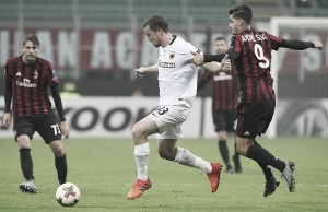 Resultado AEK x Milan pela Uefa Europa League 2017/18 (0-0)