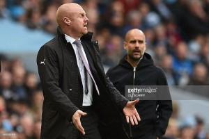 Sean Dyche positive going into challenging Manchester City clash