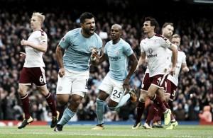 City quebra sequência do Burnley e Agüero se torna maior artilheiro da história do clube