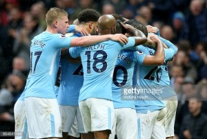 Manchester City 3-0 Burnley: Citizens overcome Clarets' defence at home
