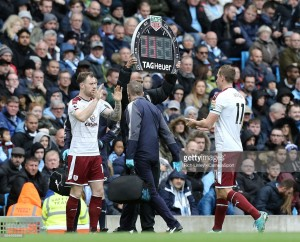 Burnley boss keeps cards close to his chest over who will lead the line at Leicester