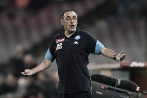 Maurizio Sarri vê Napoli superior no duelo contra a Internazionale e lamenta empate