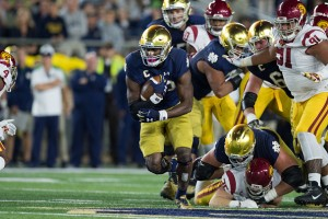 Josh Adams joins Heisman conversation as Fighting Irish prove playoff legitimacy