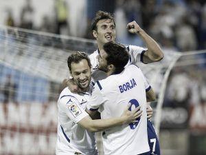 El Real Zaragoza suma su tercer triunfo consecutivo ante el Mallorca