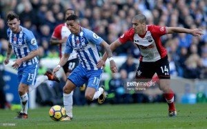Brighton 1-1 Southampton: Murray rescues point for Seagulls