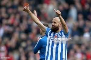 "Glenn Murray hails ""professionalism"" of Brighton captain Bruno"