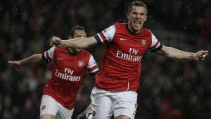 Lukas Podolski: Arsenal's striker solution?