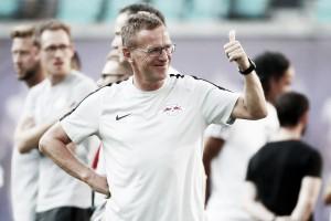 """Apesar da classificação, Rangnick desaprova atuação do Leipzig: """"Podemos fazer melhor"""""""
