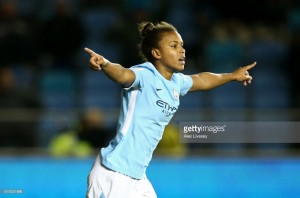 UEFA Women's Champions League – Manchester City (7) 2-1 (1) LSK: City ease into last eight