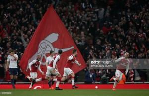 Arsenal 2-0 Tottenham Hotspur: Gunners regain North London crown in big win