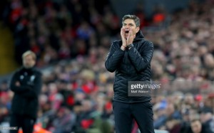 Mauricio Pellegrino concerned by Southampton's poor form after Liverpool loss