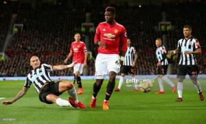 I feel blessed after making a goalscoring return from injury, admits Paul Pogba