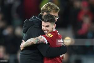 Jürgen Klopp praises Alberto Moreno following Liverpool defender's astonishing turnaround