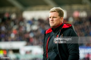 "Eddie Howe ""disappointed"" with his side's performance in draw to Swansea City"