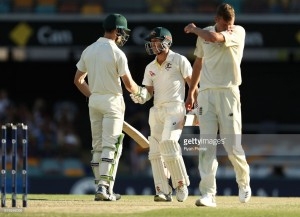 The Ashes - First Test, Day Four: Aussies on brink of first Test win after bat and ball dominance