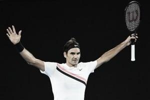 Australian Open: Roger Federer reaches the second week with win over Richard Gasquet