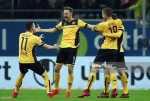 Fortuna Düsseldorf 1-3 Dynamo Dresden: Hosts stunned by onslaught in first ten minutes