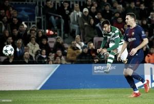 Leão perde em Barcelona e ruma à Liga Europa