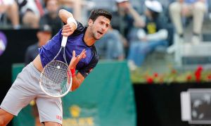 Atp Roma : buon esordio per Djokovic, fuori Seppi