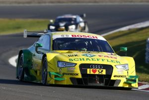 Mike Rockenfeller consigue una ajustadísima pole position
