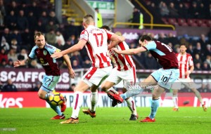 Burnley 1-0 Stoke City: Smash and grab from the Clarets sends them into the top four