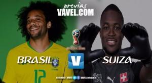 Brasil - Suiza: rumbo al hexa