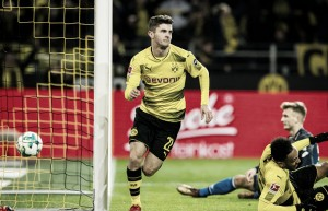 Borussia Dortmund vira no fim sobre Hoffenheim e conquista segunda vitória seguida