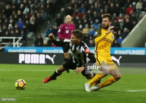 Newcastle United 0-0 Brighton & Hove Albion: Goalless at St. James' as both sides remain above drop-zone