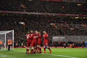 Liverpool 2-1 Leicester City: Salah's second-half brace helps Reds come from behind to beat Foxes
