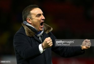 "Carlos Carvalhal admits win over Watford is ""just the first step"" for Swansea City"